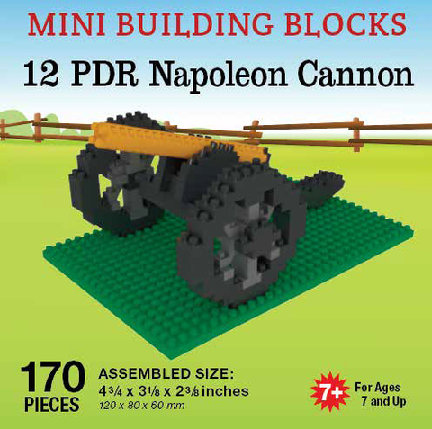 Mini Building Block Napoleon Cannon