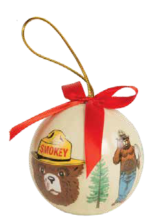 Ball Ornament CLASSIC Smokey