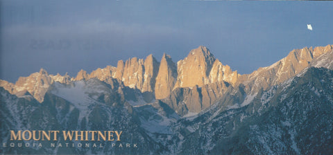 Panoramic Mt. Whitney Postcard