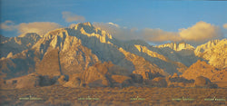 Panoramic Mt. Whitney Range Postcard