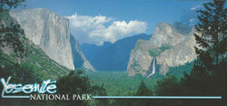 Panoramic Yosemite Valley Postcard
