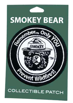 Smokey REMEMBER Logo Patch