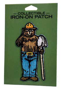 Smokey with Shovel Patch