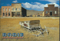 Bodie Old Wagon Postcard-QTY=50