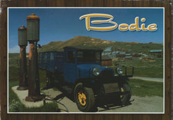 Bodie Old Truck Postcard
