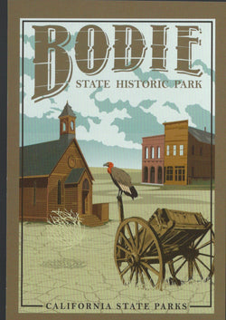 Bodie State Historic Park Postcard