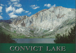 Convict Lake Peak Postcard