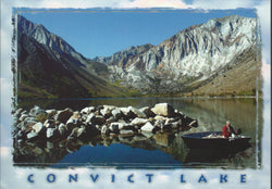 Convict Lake Fisherman Postcard