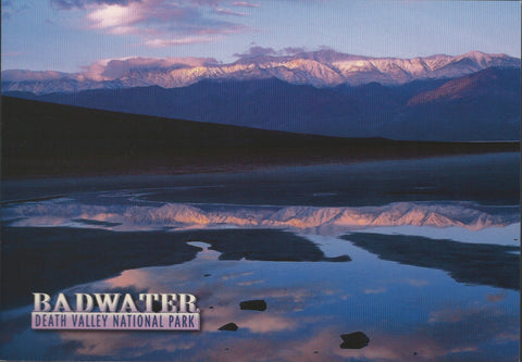 Badwater Death Valley Postcard-QTY=50