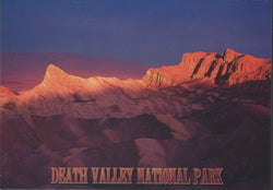 Death Valley Red Rocks Postcard-QTY=50