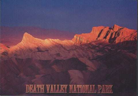 Death Valley Red Rocks Postcard