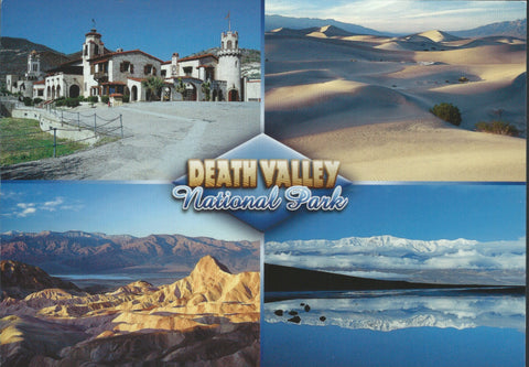 Death Valley Collage Postcard-QTY=50