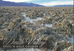 Devil's Golf Course Death Valley Postcard-QTY=50