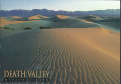 Death Valley Sand Ripples Postcard-QTY=50