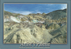Death Valley Artist's Palette Postcard-QTY=50