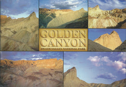 Golden Canyon Death Valley Postcard-QTY=50