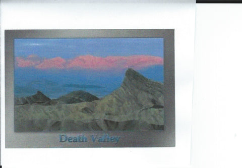 Death Valley Sunset Postcard-QTY=50