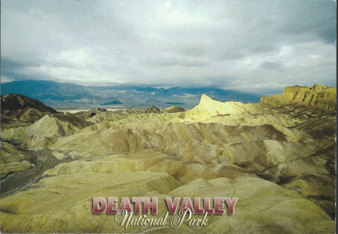 Death Valley Views Postcard