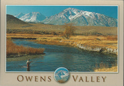 Owens Valley Eastern Sierra Postcard