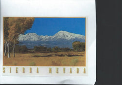 Sierra Navada Mountain Postcard