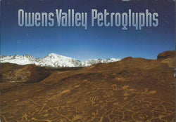 Owens Valley Petroglyph Postcard