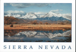 Sierra Nevada Lake Postcard