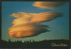 Sierra Nevada Clouds Postcard