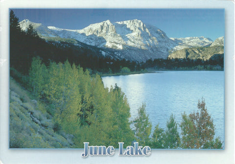 June Lake Scenery Postcard-QTY=50