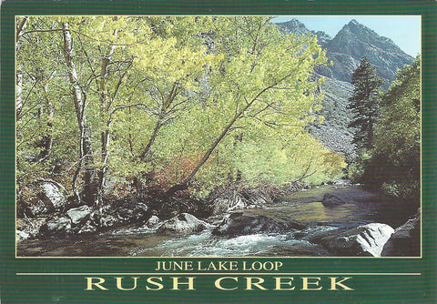 Rush Creek June Lake Postcard-QTY=50