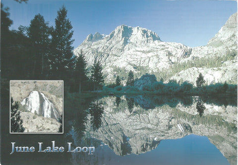June Lake Reflection Postcard-QTY=50