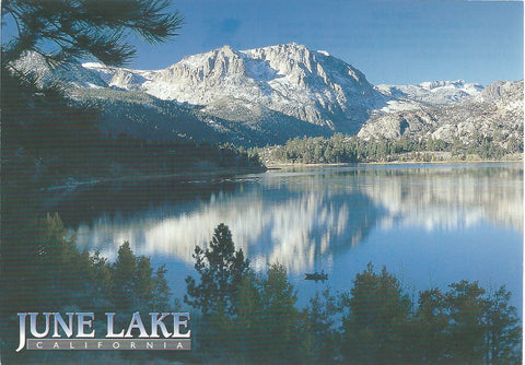 June Lake Scenic Postcard-QTY=50
