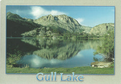 June Lake Gull Lake Postcard