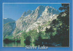 Silver Lake Blue Postcard