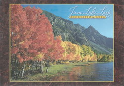June Lake Recreation Area Postcard