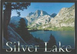 Silver Lake Black Postcard