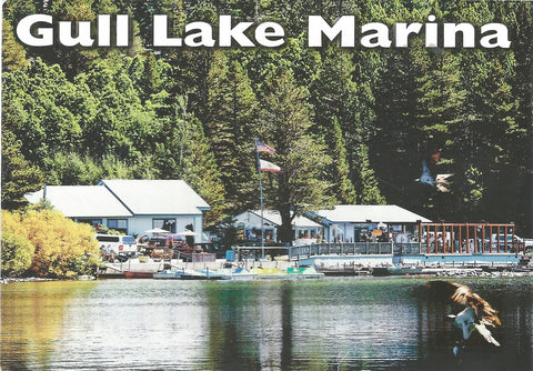 Gull Lake Marina Postcard-QTY=50