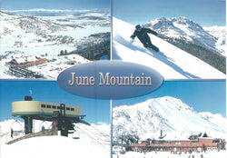 June Mountain Postcard
