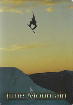 June Mountain Big Air Postcard