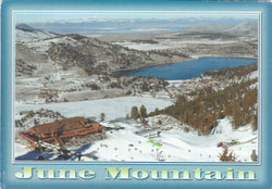 June Mountain Ski Resort Postcard