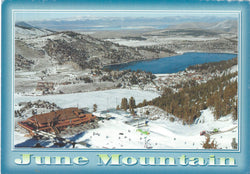 June Mountain Ski Area Postcard-QTY=50