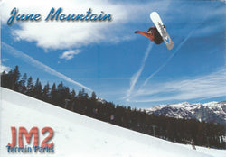 June Mountain Terrain Park Postcard