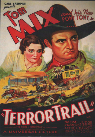 Terror Trail Postcard-QTY=50