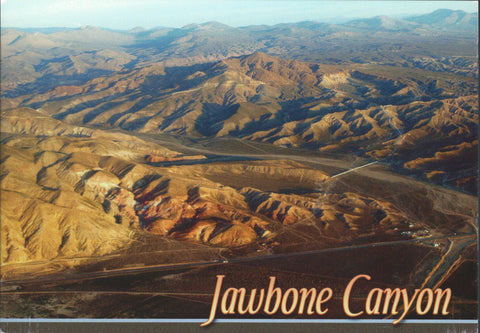 Jawbone Canyon Postcard