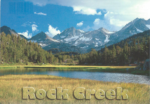 Rock Creek Postcard-QTY=50
