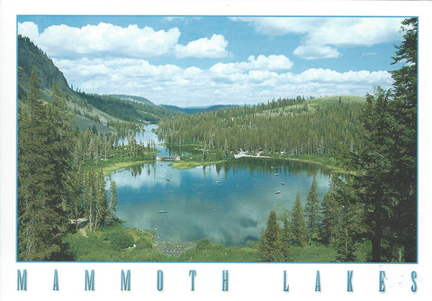 Mammoth Lakes Afternoon Day Postcard