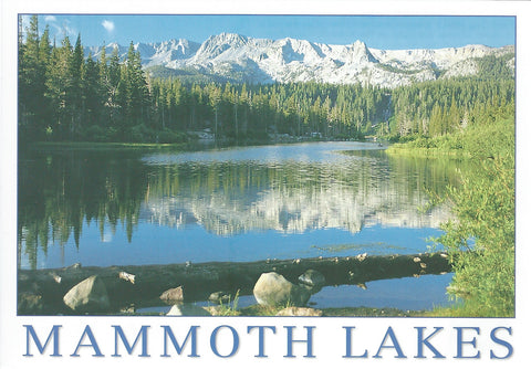 Mammoth Lakes Clear Day Postcard-QTY=50
