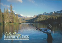 Lake Mary Fishing Postcard-QTY=50
