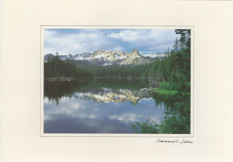 Mammoth Lakes Signature Postcard-QTY=50