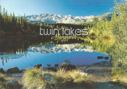 Twin Lakes Evening Postcard