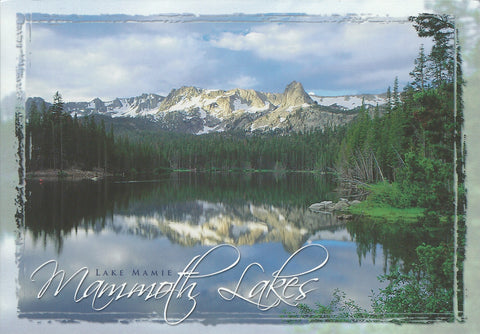 Mammoth Lakes Vintage Look Postcard-QTY=50